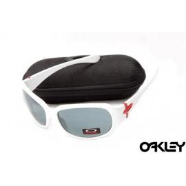 Oakley script matte white and orion blue