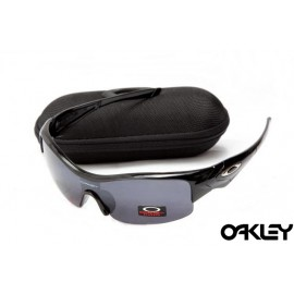 Oakley straight jacket sunglass polished black and black iridium