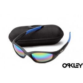 Oakley straight jacket sunglass matte black  and colorful