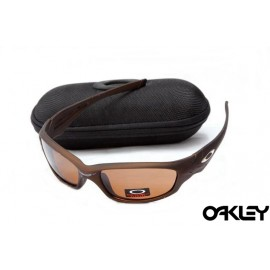 Oakley straight jacket sunglass matte bronze and persimmon