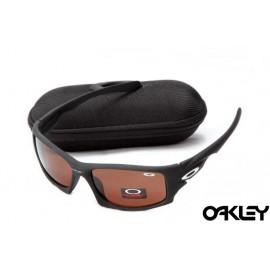 Oakley ten sunglasses in matte black and VR28 iridium