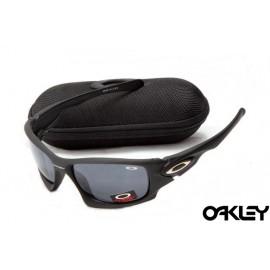 Oakley ten sunglasses in matte black and grey