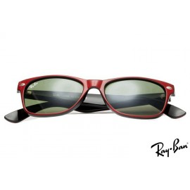 Ray Ban RB2132 New Wayfarer Classic Red Sunglasses