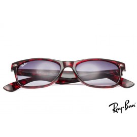 Ray Ban RB2132 New Wayfarer Classic Tortoise Sunglasses