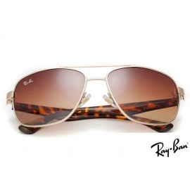 Ray Ban RB2483 Aviator Gold Sunglasses