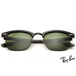 Ray Ban RB3016 Clubmaster Sunglasses Classic Black