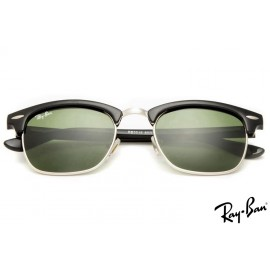 Ray Ban RB3016 Clubmaster Classic Black Sunglasses for cheap