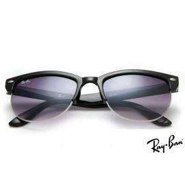 Ray Ban RB3016 Clubmaster Classic Black Sunglasses sale