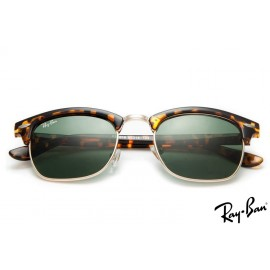 Ray Ban RB3016 Clubmaster Classic Sunglasses Tortoise