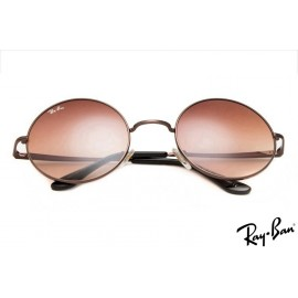 Ray Ban RB3089 Round Craft Brown Sunglasses