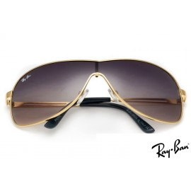 Ray Ban RB3466 Highstreet Gold Sunglasses