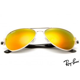 Ray Ban RB3806 Aviator Gold Sunglasses cheap