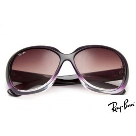 Ray Ban RB4098 Jackie Ohh II Purple Sunglasses