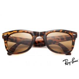 Ray Ban RB4105 Wayfarer Folding Classic Tortoise