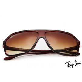 Ray Ban RB4219 Highstreet Brown Sunglasses