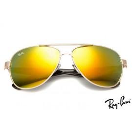Ray Bans RB8812 Aviator Gold Sunglasses cheap