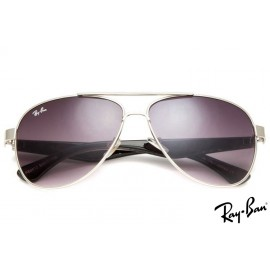 Ray Ban RB8812 Aviator Silver Sunglasses
