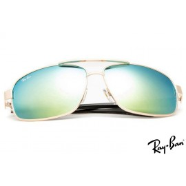 Ray Ban RB8813 Gold Sunglasses