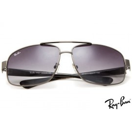 Ray Ban RB8813 Aviator Grey Sunglasses