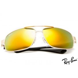 RayBans RB8813 Aviator Silver Sunglasses