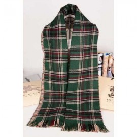 Burberry cotton cashmere olive classic scarf