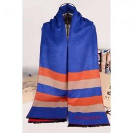 Burberry cashmere blue scarves