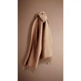 Burberry heritage cashmere scarf camel