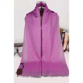 Calvin Klein silk scarf purple