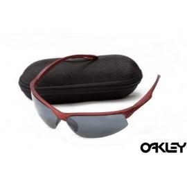 Oakley sunglasses in matte team cardinal and black iridium