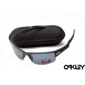 Oakley sunglasses in matte black and black iridium for usa