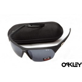 Oakley sunglasses in matte black and black iridium fake