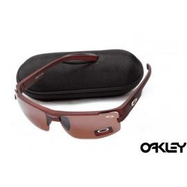 Oakley sunglasses in matte team cardinal and team cardinal iridium sale