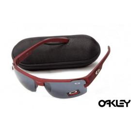 Oakley sunglasses in matte team cardinal and black iridium on sale