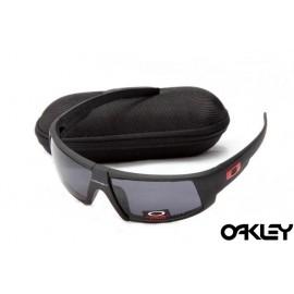 Oakley sunglasses in matte black and black iridium online wholesale