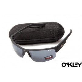 Oakley sunglasses in matte black and black iridium