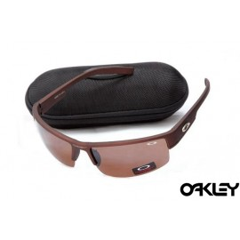 Oakley sunglasses in matte basin red and basin red iridium