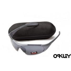 Oakley sunglasses in matte slate and black iridium