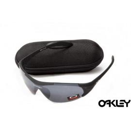 Oakley sunglasses in matte black and black iridium online