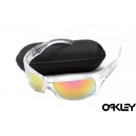 Oakley sunglasses in clear and ruby iridium