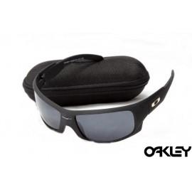Oakley sunglasses in matte black and black iridium on sale