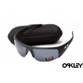 Oakley sunglasses in matte black and black iridium online sale