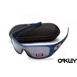Oakley antix sunglasses in matte blue and black iridium