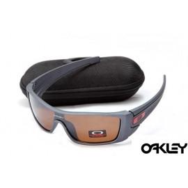 oakley batwolf sunglasses in polished fog and VR28 black iridium