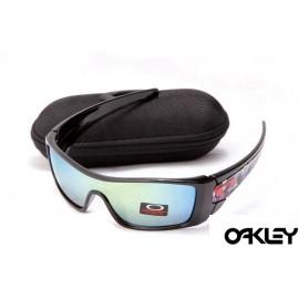 oakley batwolf sunglasses in polished black and ice iridium sale