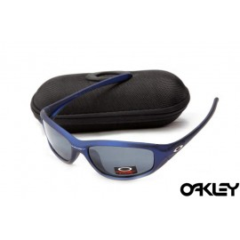 Oakley encounter matte blue and black iridium