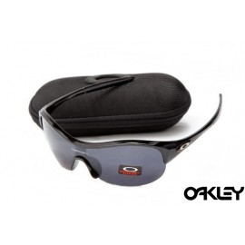 Oakley enduring pace sunglasses in polished black and black iridium online