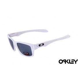 Oakley jupiter carbon sunglasses in polished white and black iridium