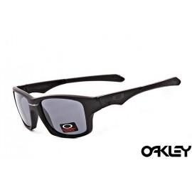 Oakley jupiter squared sunglasses in matte black and grey iridium