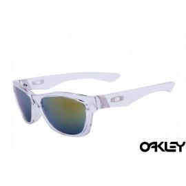 Oakley jupiter sunglasses in clear and fire iridium