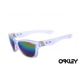 Oakley jupiter sunglasses in clear and camo iridium